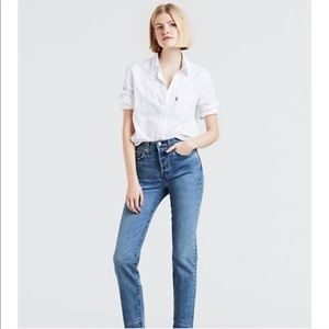 Levi's 501 Skinny Jeans New!